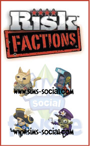 Sims Social - Risk: Factions Items Coming Soon