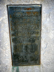 Dietrich Ouzts Monument