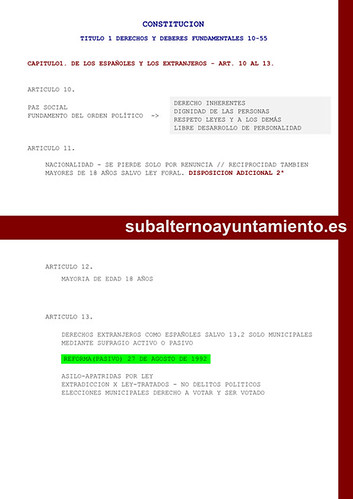 Título primero by Subalterno Ayuntamiento