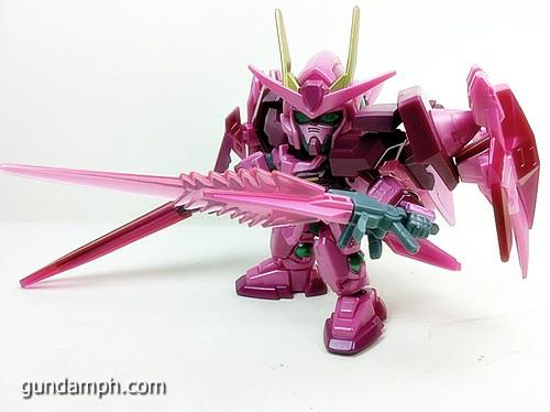SD Gundam Online Capsule Fighter Trans Am 00 Raiser Rare Color Version Toy Figure Unboxing Review (50)