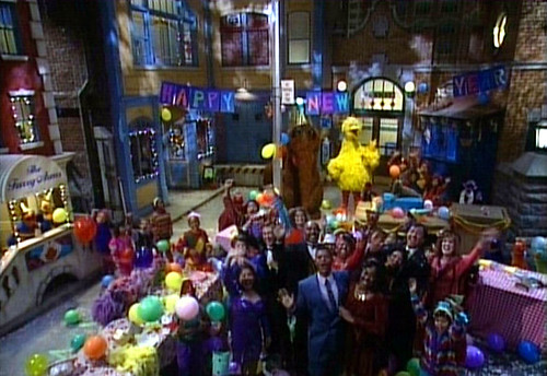 New Year, Sesame Street