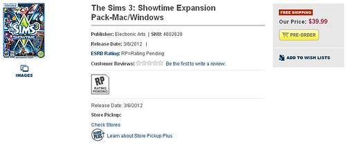 Pre-Order Showtime @ Best Buy!
