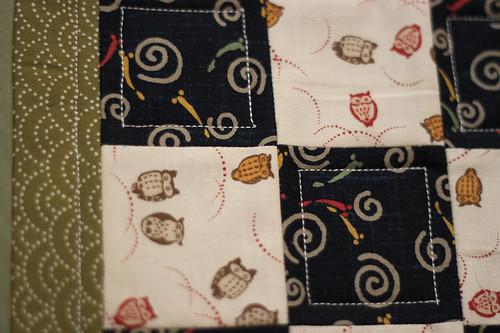 Mini Quilt Block - Detail