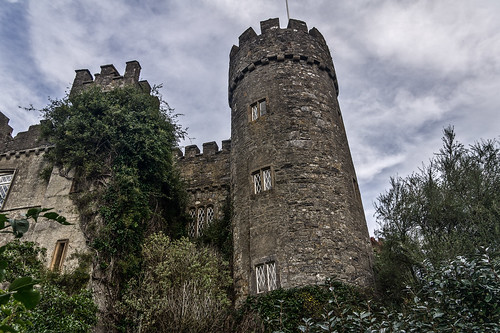 Malahide Castle Is a Haunted Castle by infomatique