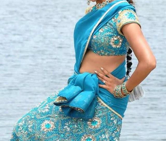 Actress Bhavana Hot Navel Show Stills