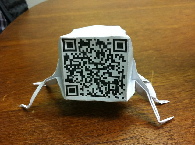 Photo:QR Code Bug By:HorsePunchKid