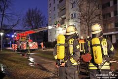 Balkonbrand Teufelssprung Kostheim 25.01.12