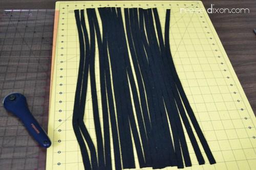 Shredded Scarf Tutorial Step 2