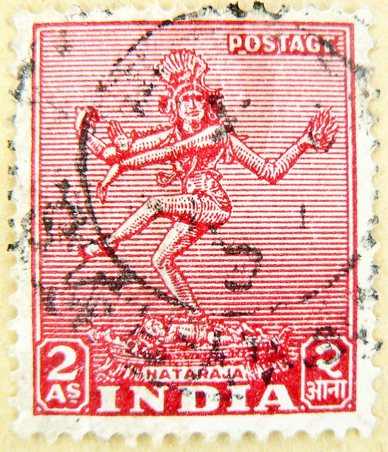 great stamp India 2 As Shiva Nataraja नटराज (Lord of Cosmic Dance - Tāṇḍava) postage टिकटों भारत हाथी 邮票 印度 象 francobolli selo sello India 切手 スタンプ インドの 象 postzegel zegels India 우표 인도 코끼리 طوابع الهند فيل znaczki Indie марки Индия слон frimerker India