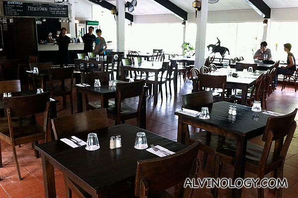 Riders Cafe's restaurant interior