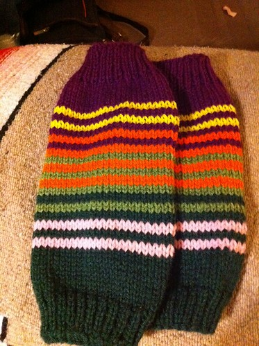Legwarmers - finished