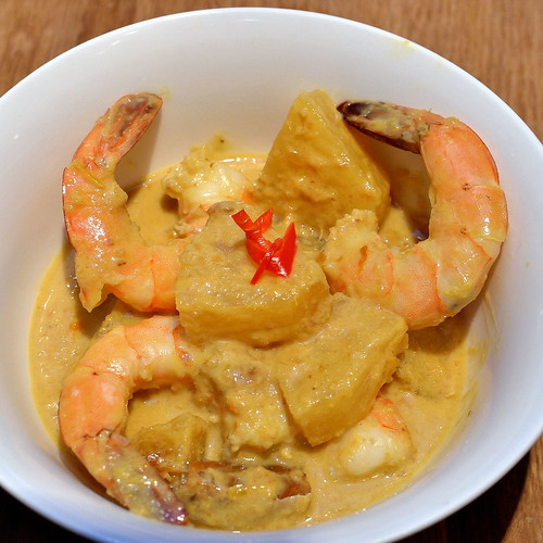 Shrimp & Pineapple Curry