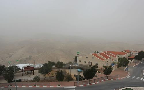 Dust Storm, Maale Adumim