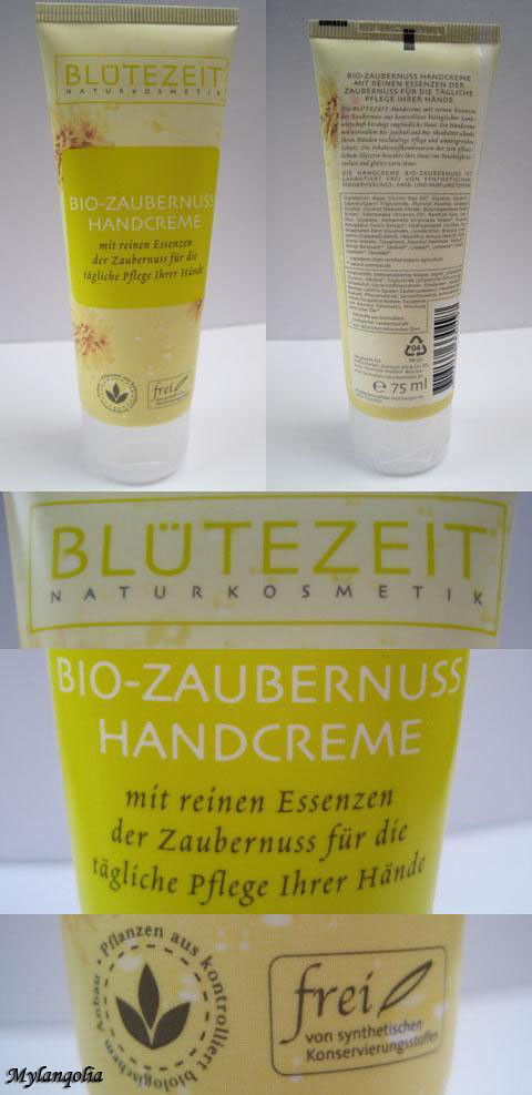 Bluetezeit Organic Hazel Witch Hand Cream1