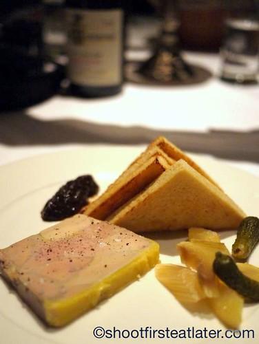 foie gras terrine $15
