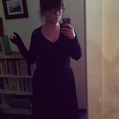 All black for a grey day #dressember day 19