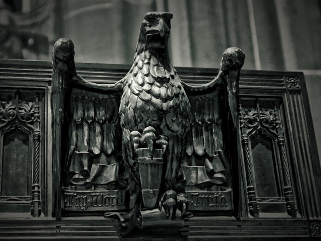 Liverpool Cathedral Eagle