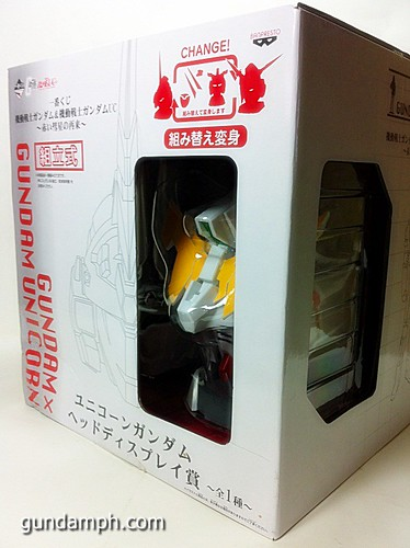 Banpresto Gundam Unicorn Head Display  Unboxing  Review (9)