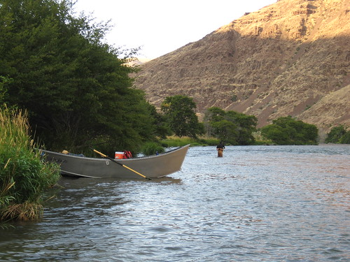 Evening on the lower Deschutes River