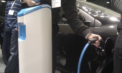 This is how we charge our electric cars.