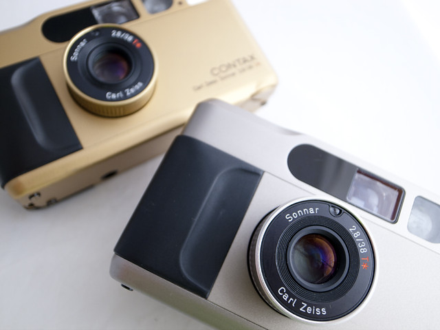 Contax T2's