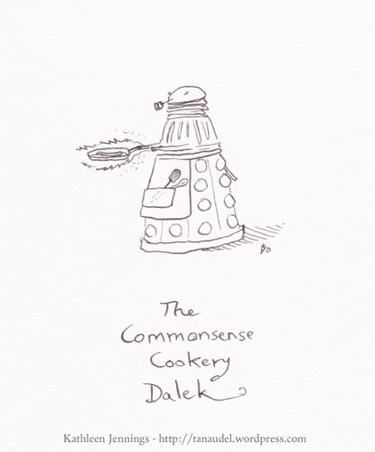 The Commonsense Cookery Dalek