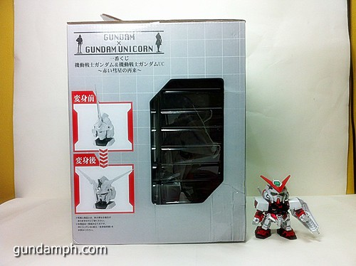 Banpresto Gundam Unicorn Head Display  Unboxing  Review (4)