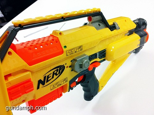 NERF Sale 50% Off Stampede Raider Recon Unboxing Review (41)