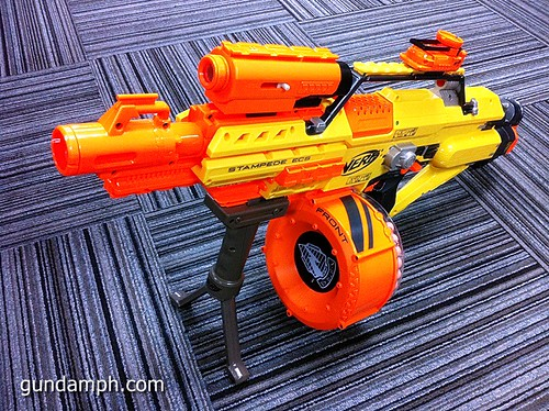 NERF Sale 50% Off Stampede Raider Recon Unboxing Review (79)
