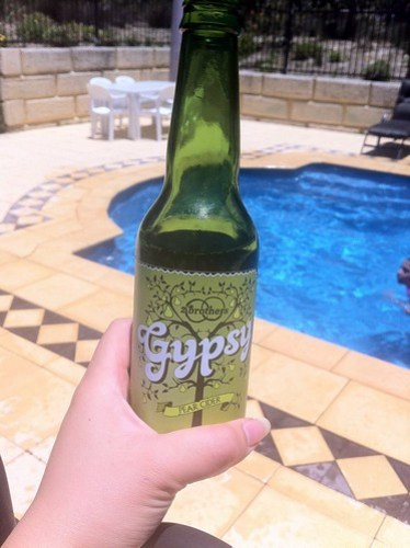 Gypsy cider poolside