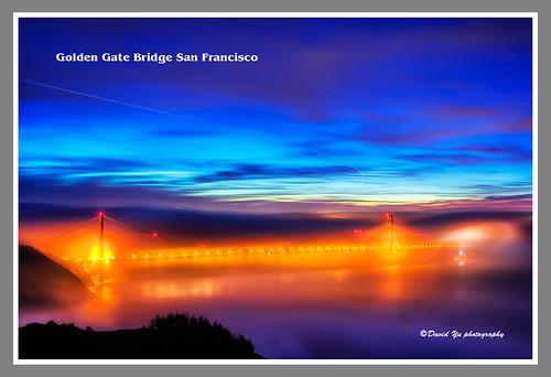 Golden Gate Bridge San Francisco by davidyuweb