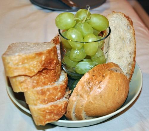 Brot und Trauben