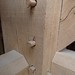 Oak beam detail - Brockwood Park School Pavilions Project
