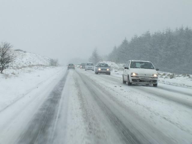 Blaen Y Glyn photography walk-Brecon Beacons snow chaos