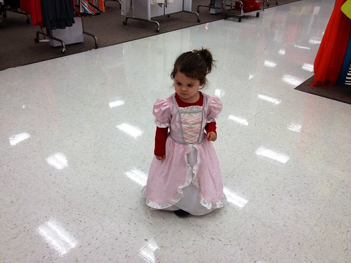 Princess at Target