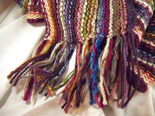scarf fringe