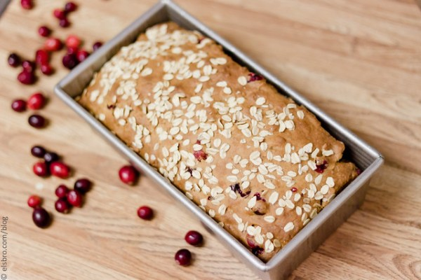 348/365 Cranberry Oat & Honey Bread #mostly365