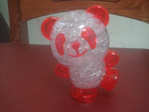 3D水晶立體積木拼圖_熊貓1