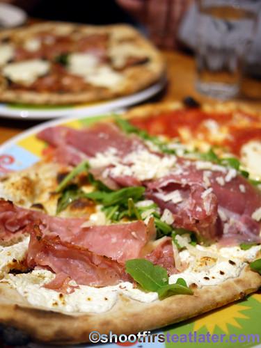 Eataly NYC-La Pizza & La Pasta - 3 kinds of pizza