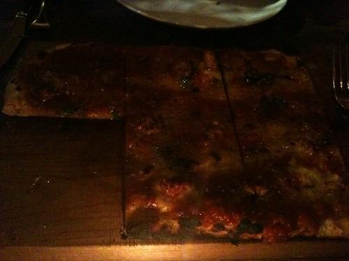 Merguez Sausage Flatbread