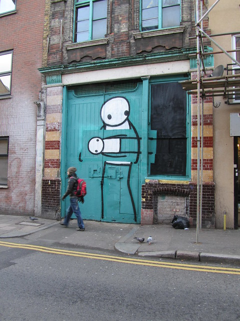 Street Art & Graffiti in Shoreditch - Stik