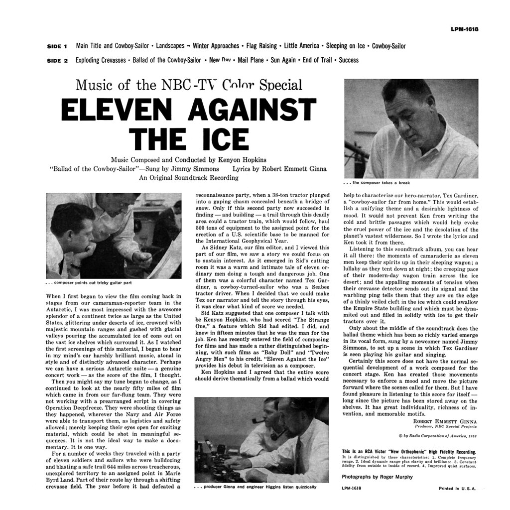Kenyon Hopkins - Eleven Against the Ice