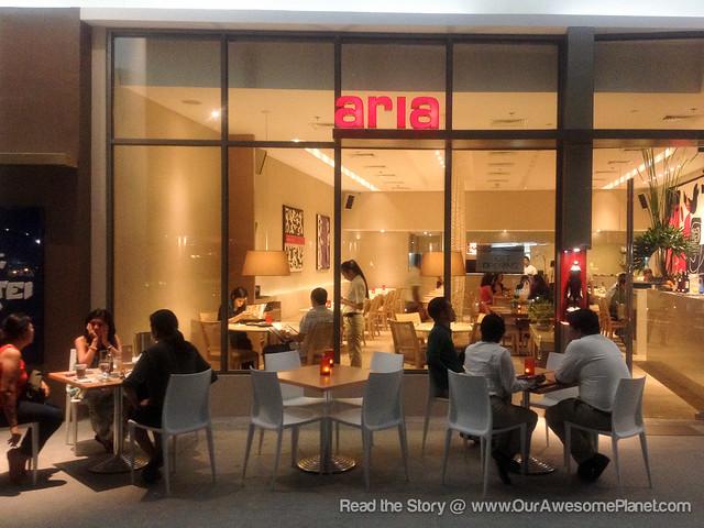 Aria Cucina Italiana in Manila!