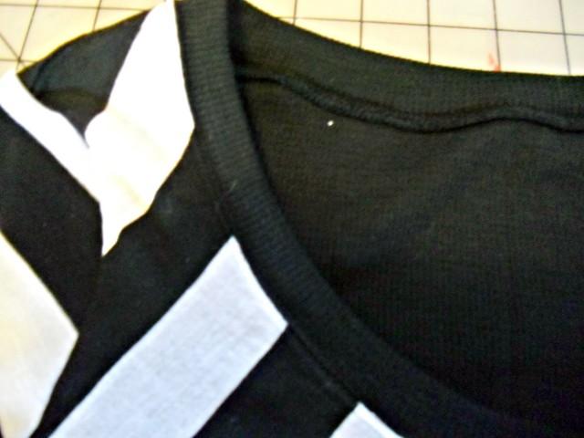 Chevron Renfrew - top stitching