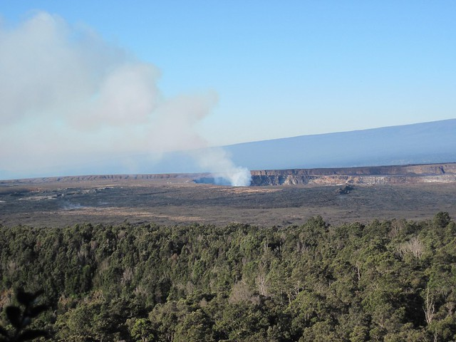 Picture from the Kilauea Iki Trail