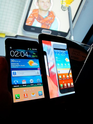 Galaxy S2 vs. Galaxy Note