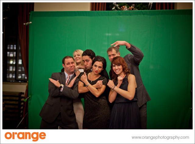 Green screen smashBOOTH at MPINCC Holiday Reception
