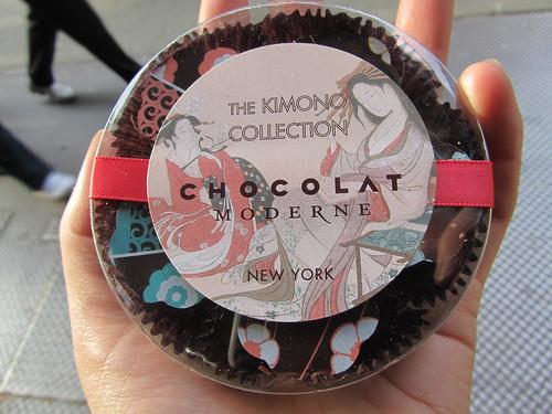 Kimono chocolates