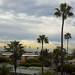 View of the ocean from my old apartment in Santa Monica.