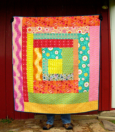 Folksy Flannel Quilt